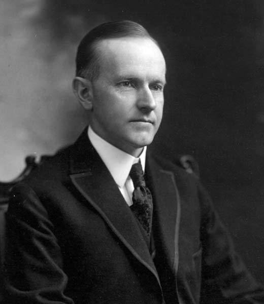 In 1924, Calvin Coolidge (pictured) won the presidential election to become the 30th President of the United States.