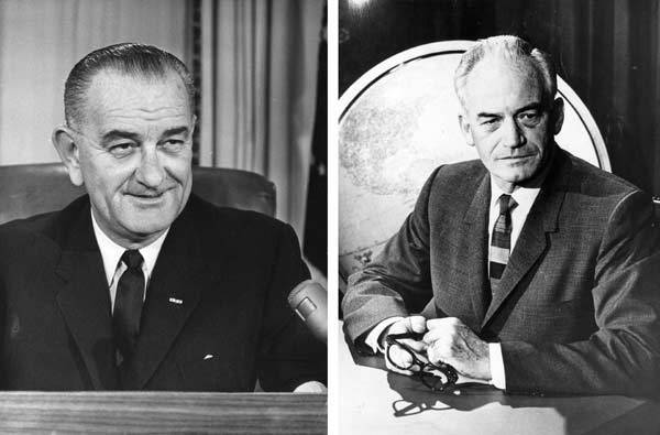 In 1964, Lyndon B. Johnson won the presidential election to become the 36th President of the United States.