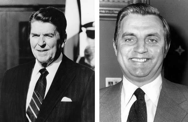 In 1984, Ronald Reagan won the presidential election to serve his second term as President of the United States.