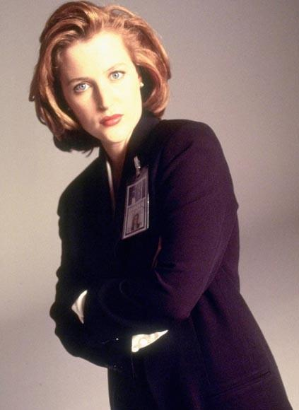 The network wanted a blonde bombshell to play against Fox Mulder -- and to set sparks flying between the partners. But series creator Chris Carter fought for -- and got -- Gillian Anderson as Dana Scully, a smart, driven skeptic who played against all the stereotypes. It's impossible to imagine anyone else bringing the character to life.