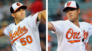 Orioles tweak weekend rotation, rest Wei-Yin Chen, Miguel Gonzalez
