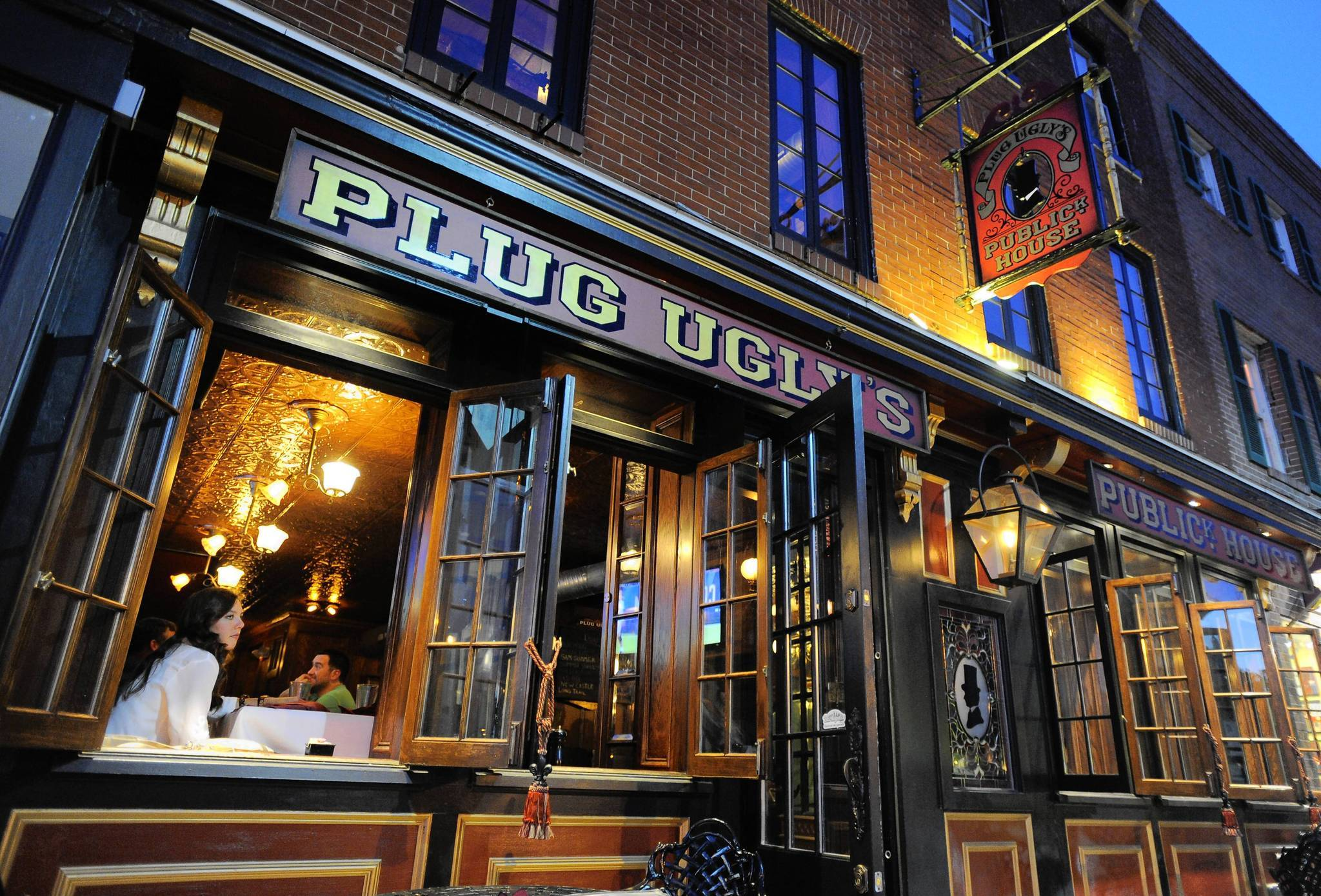 The exterior of Plug Ugly's Publick House in Canton.