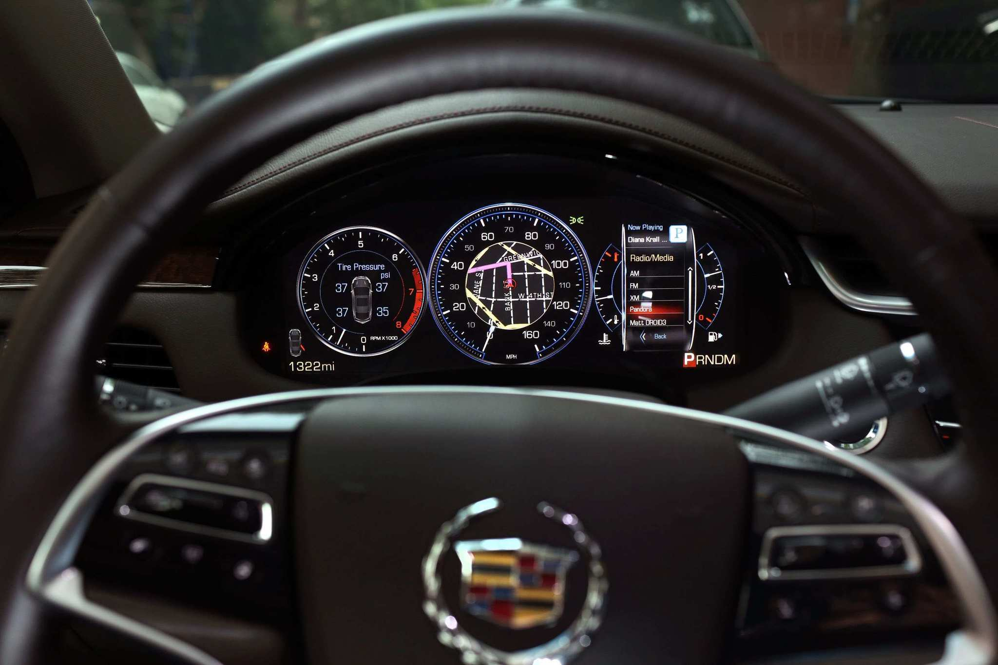 The 2013 Cadillac XTS - Navigation system