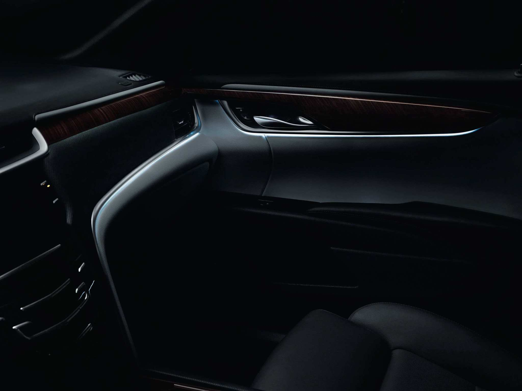 The 2013 Cadillac XTS - Solid interior
