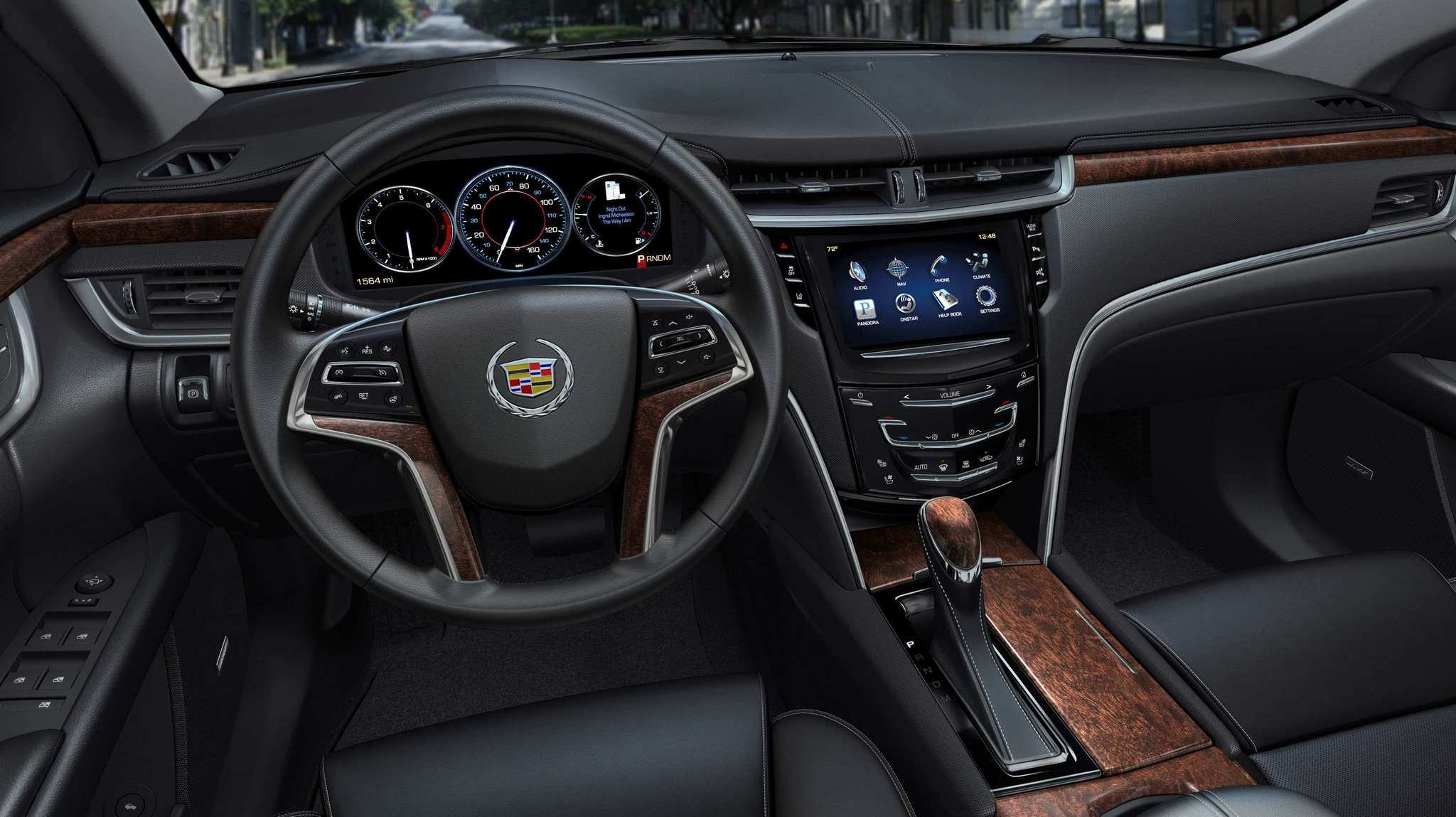 The 2013 Cadillac XTS - Pleasant interior