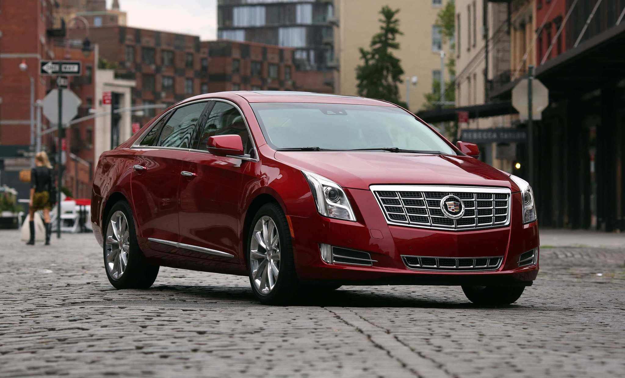 The 2013 Cadillac XTS - Exterior shell