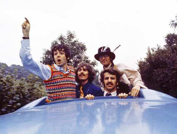 "The Beatles' 1967 film ""Magical Mystery Tour"" will be released on home video on Oct. 8"