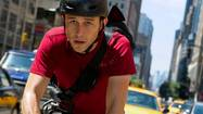 """Premium Rush"" is great fun — nimble, quick, the thinking person's mindless entertainment. In the same week of ""Hit & Run,"" which offers only meager escapism in a high-velocity realm, director and co-writer David Koepp's thriller about a bicycle messenger pedaling for his life, up and down and across Manhattan, delivers a bracing corrective. On two wheels, only! Four's for losers."