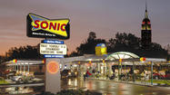 Chain restaurants like Sonic