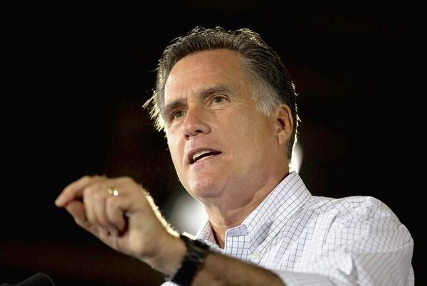 Mitt Romney speaks during a campaign stop at LeClaire Manufacturing in Midland, Texas. His position on abortion is more moderate than running mate Paul Ryan's.