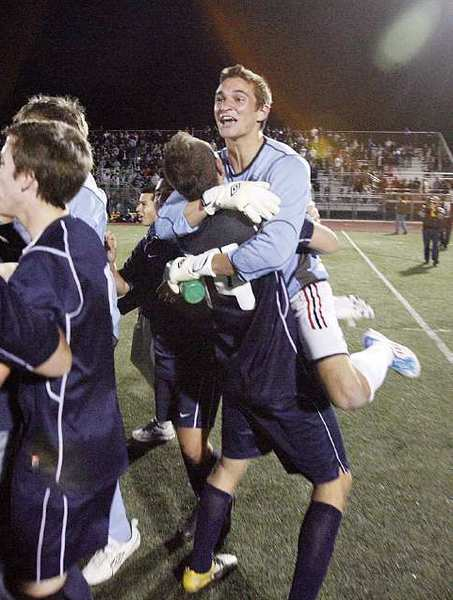 Nick Ruiz helped deliver the Crescenta Valley boys' soccer team a 3-2 win over Salesian in overtime of the CIF Southern Section Division IV quarterfinals.