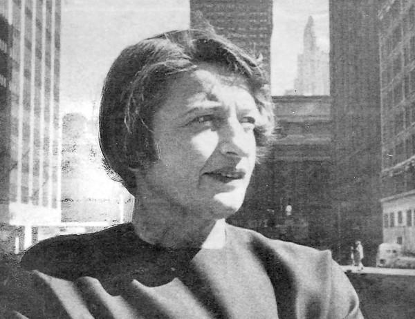 Ayn Rand in 1962.