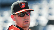Matt Wieters' shoulder nicked; he expects to be OK