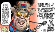 Hank Williams Jr. hates Barack Obama and the new USA