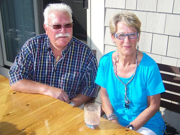 Kurt Bremer found himself stuck in East Germany after World War II. He made a plan and managed to escape to West Berlin. Kurt and his wife, Gisela, are currently visiting the area and staying with longtime friends.