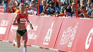 Russia's Liliya Shobukhova will try to become the first runner to win four straight Chicago Marathon titles.
