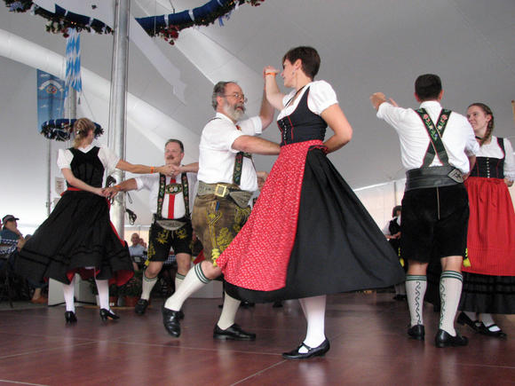 Lederhosen and long skirts