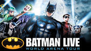 (Wichita, Kan.), (August 18, 2012) – The unique action-packed live arena show BATMAN LIVE, a creative collaboration between Warner Bros. Consumer Products, DC Entertainment and Water Lane Productions, will come to  Wichita at INTRUST Bank Arena on November 13 - 14 for three performances only.