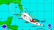The latest forecast from the National Hurricane Center calls for Tropical Storm Isaac to pass by Florida's west coast toward Alabama and Louisiana, but there is disagreement from at least one meteorologist on that.