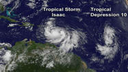 As Tropical Storm Isaac swirls in the Caribbean -- becoming more powerful mile by mile -- it threatens to unleash disaster once again on vulnerable and often unaware Haitians by Friday night.