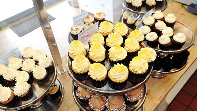 The Cupcakery has a daily flavor rotation of cupcakes