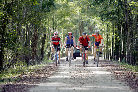 Florida Getaways of the Day - <b>Pinellas Trail:</b> 45 miles of scenic cycling