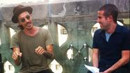 Today Incubus singer Brandon Boyd stopped by Tribune Tower for an interview on our 22nd floor deck. If you think he's difficult and arrogant and the embodiment of what you imagine the frontman of a very successful rock band to be, you're almost certainly not an Incubus fan or someone who's ever seen/read an interview with the mellow, open, thoughtful Boyd--who appears with the California rockers Friday at First Midwest Bank Amphitheatre.