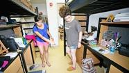 Forty freshmen got a nice surprise when they moved into the newly remodeled student housing Saturday at Laguna College of Art & Design's South Campus.