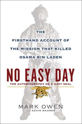Book Cover: No Easy Day