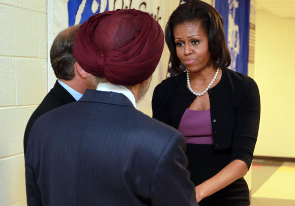 First lady to visit Sikh families in Oak Creek