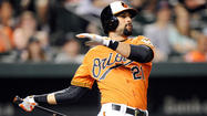 First and forceful: Markakis' numbers have soared since he moved to leadoff spot