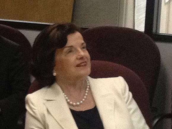 Feinstein at JPL