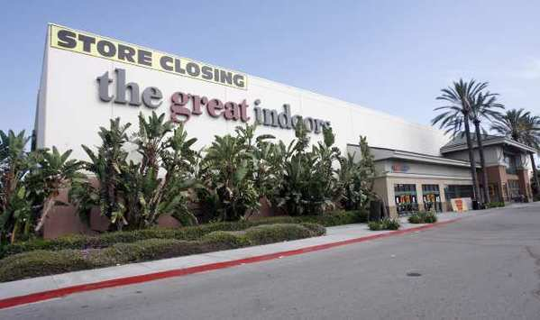The former Great Indoors site at the Empire Center in Burbank, where Walmart plans to move in.