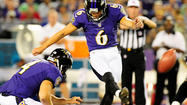 Justin Tucker wrapped up his career at the University of Texas ranked third all-time in field-goal accuracy with an 83.3 conversion rate (40-of-48). He's having an even better time with the Ravens.