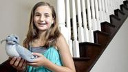 Julia Wolfe, 12, isn't waiting for a degree in marine biology to start helping pinnipeds.