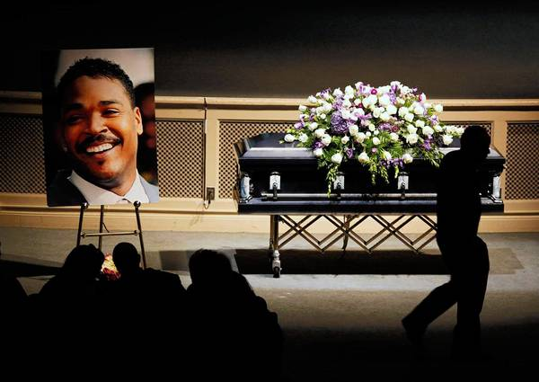A June service memorialized Rodney King, who drowned in his backyard pool June 17. King, whose videotaped beating at the hands of LAPD officers in 1991 thrust him into public consciousness, had long battled addiction to alcohol and drugs.
