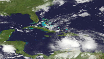 Tropical Storm Isaac's threat to Florida reduced