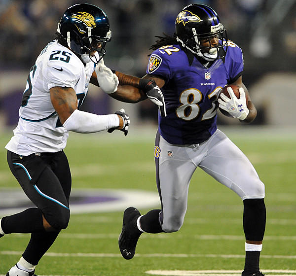 "Even though Torrey Smith set franchise rookie records in 2011 with 50 receptions, 841 receiving yards and seven receiving touchdowns and ranked among the NFL's top five rookies in each of those categories, there is a perception among some pigskin pundits outside Baltimore that Smith is nothing more than a deep threat. For example, I did a radio interview with a Jacksonville radio station Thursday morning, and the host dismissed him -- not maliciously, but actually kind of respectfully -- as being just that. But Smith has impressed me and I'm guessing many of my peers in the local media with his obvious development throughout the offseason. He has also gotten the attention of Ravens coach John Harbaugh, who raved about Smith's character, saying he will not be outworked (he had similar praise for fellow second-year receiver LaQuan Williams, too).<br> <br> Smith, like many Ravens players, was a regular participant in the team's offseason conditioning program and voluntary workouts in the spring. His route running was clearly a major emphasis, and he told me at one point during OTAs that wide receivers coach Jim Hostler was teaching him how to keep his balance better in and out of cuts so his defenders would be the one who were caught off-balance. Smith has also gotten better at catching the football after a few clanked off of his chest last season. In 18 games, Smith had eight drops, according to Pro Football Focus, including four in the win in Pittsburgh in which he drove a dagger into the hearts of the Steelers with a late game-winning touchdown. (Veteran Anquan Boldin actually had nine drops last season, so it's not like Smith was alone in his pass-catching struggles.) But throughout the spring and training camp, Smith has been attacking the football in the air and making strong grabs with his hands away from his body.<br> <br> While Ravens fans aren't lucky enough to have a sideline view of training camp anymore, they got a glimpse Thursday night of what we have all been seeing from Smith out at the Under Armour Performance Center. He hauled in a game-high eight passes for 103 yards. None of those receptions were made beyond 20 yards from the line of scrimmage, though Smith might still be running if Joe Flacco hadn't overthrown him as he sprinted down the right sideline on the first drive of the game. He had a 17-yard gain on a comeback route and ran a sharp deep-out route for a 16-yard gain in the first quarter. He caught three short passes underneath the Jacksonville coverage in the second quarter. And in the third quarter, he caught a pass over the middle on a crossing pattern and turned up the field for a gain of 32 yards. Those crossing patterns could be particularly dangerous going forward if Ravens offensive coordinator Cam Cameron makes them a staple in the playbook.<br> <br> Of course, the best things going for Smith are still his fleet feet, which are why he will make a major impact on the opponents' game plans even if he never rounded out the rest of his game. He has elite speed, forcing defenses to shift at least one deep safety his way and keeping cornerbacks on their heels. We saw that a few times on Thursday, which is why he was able to get wide open while running intermediate routes toward the sidelines.<br> <br> ""I guess it definitely benefits me a lot because there is so much that opens up, the underneath routes,"" Smith said. ""I understand that's a part of the process, and that's why I've got to continue to work on everything and get better, so it's kind of tough on them having to respect [me] going deep and [allow] underneath routes.""<br> <br> If Smith can learn how to run a comeback route half as well as Derrick Mason -- and let's be honest, few, if any, players ever ran it better than Mason -- he'll be a tough matchup for many of the league's best cornerbacks.<br> <br> This isn't going to be a regular space for predictions, but I'll throw one out there since it is the preseason: I wouldn't be surprised if Smith becomes Flacco's favorite target this season and tops 1,000 receiving yards."