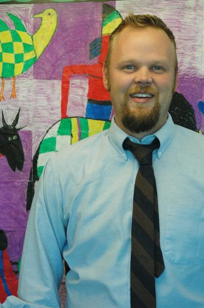 Nathan Fairbanks, 32, originally from Harrison, is Harbor Springs's new elementary principal.