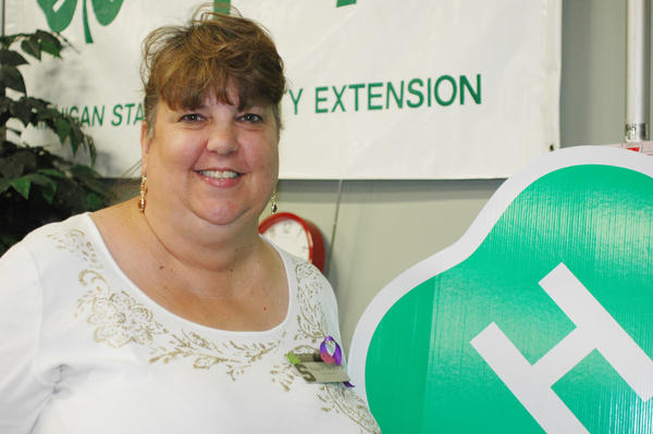 Diane Brazier, 4-H program coordinator, hasnt missed an Emmet-Charlevoix County Fair since 1973.