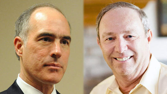Bob Casey and Tom Smith