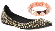 Sassy studded accessories for fall