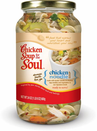 Chicken Soup for the Soul ... in a jar