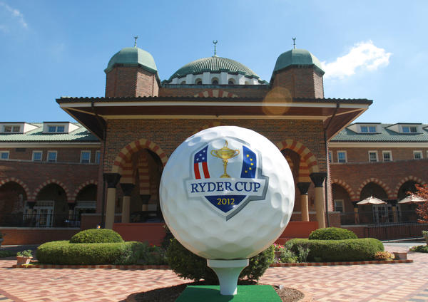 Medinah County Club is being transformed for this year's Ryder Cup.