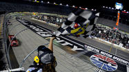 Timothy Peters won the NASCAR Trucks Series race at Bristol Motor Speedway on Wednesday night, leading all 204 laps for his second victory of the season and fifth overall.