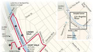 <b>MAP</b>: Los Angeles River walk details