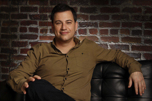 "ABC's Jimmy Kimmel is about to get a promotion -- to 11:35 p.m. Following a flurry of rumors, the network confirmed Tuesday that it will move ""Jimmy Kimmel Live"" earlier by one half-hour beginning Jan. 8. That will put the funny man's show in direct competition with NBC's ""Tonight Show With Jay Leno"" and CBS' ""Late Show With David Letterman"" for a three-way ratings brawl. <br><br> <strong>Full story:</strong> <a href=""http://www.latimes.com/entertainment/tv/showtracker/la-et-st-abc-moves-jimmy-kimmel-to-1135-pm-packs-nightline-to-friday-20120821,0,1113628.story"">ABC moves Jimmy Kimmel to 11:35 p.m.</a> 