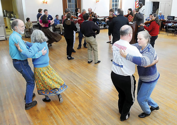 Ann Fallon will call a selection of contra dances to the music of The Contra Rebels from 8 to 11 p.m. Saturday, Sept. 1, at Shepherdstown War Memorial Building, corner of German and King streets, Shepherdstown, W.Va.