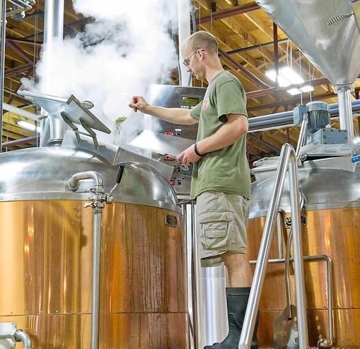 Olde Mecklenburg Brewery in Charlotte, N.C.