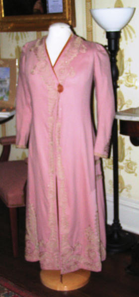 Hamilton Pink Coat is part ofFabulous Fashions 1790 to 1930 exhibit open at the Miller House, 135 W. Washington St., downtown Hagerstown.